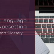 A Typesetting Glossary