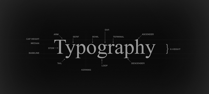 typography terms