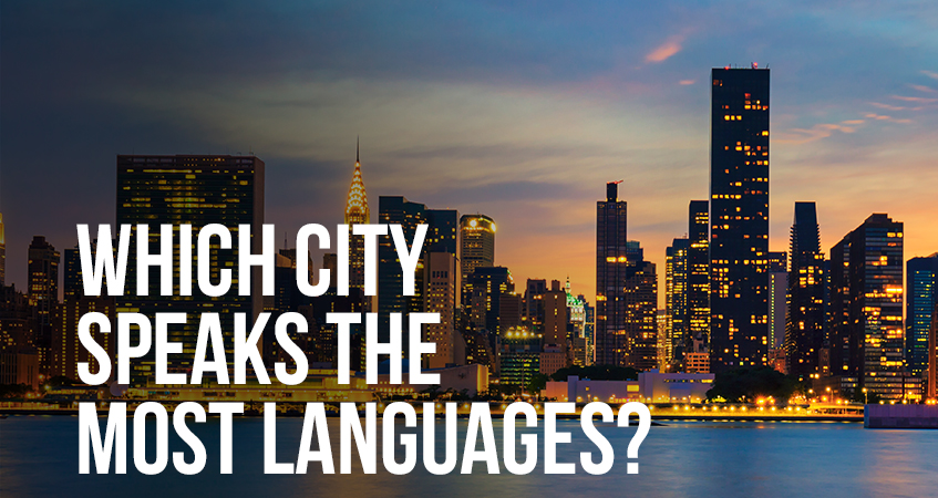 Which City Speaks the Most Languages