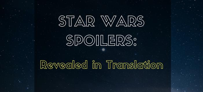 Star Wars Spoiler