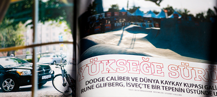 Transcreation for Dodge Magazine