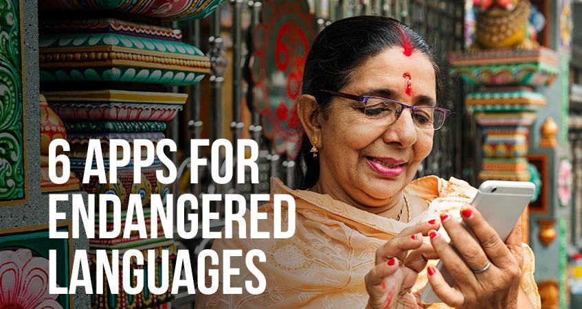 6 apps for endangered languages