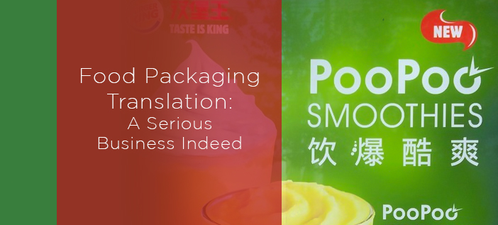 Food Packaging Translation - A Serious Business