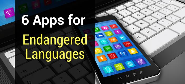 apps for endangered languages