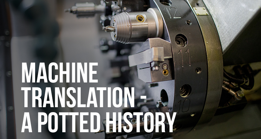 machine translation a potted history