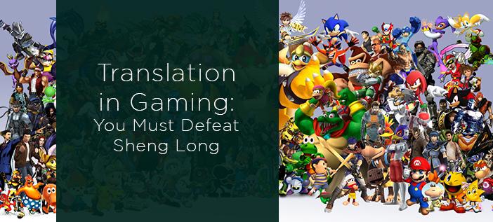 Translation in Video Games
