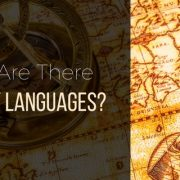 Why Are There So Many Languages?