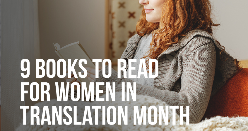 9 books to read for women in translation month