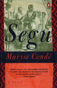 Image of Segu book jacket by Maryse Conde