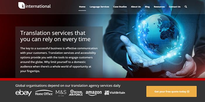 Translation Services from K International