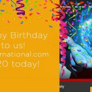 K-international.com is 20 today