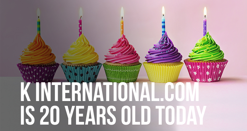 k international.com is 20 years old today
