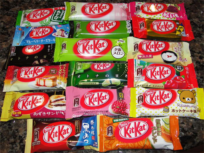 Nestle Localised KitKats