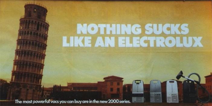 Electrolux UK ad