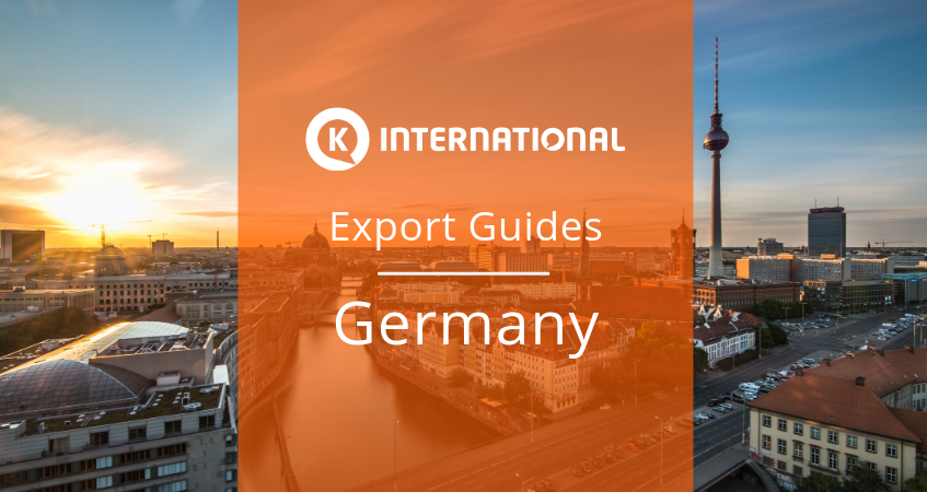 Export Guide for Germany