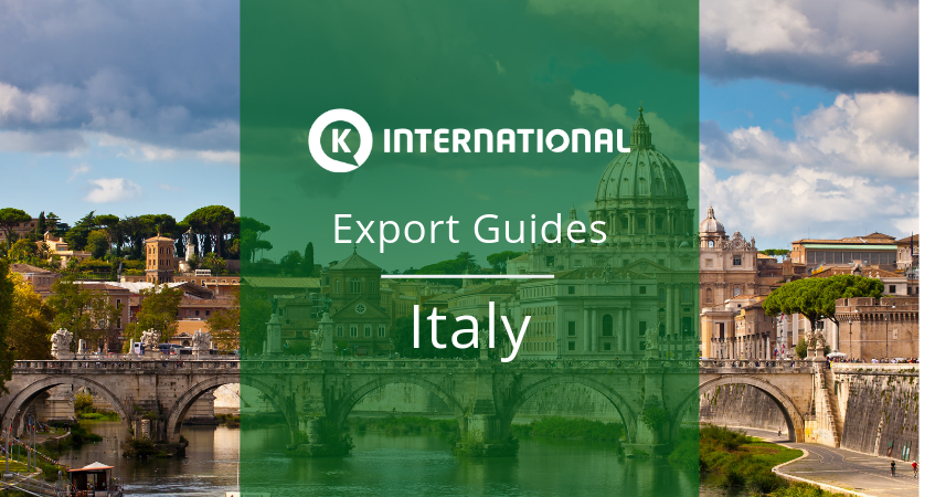 Export Guide for Italy
