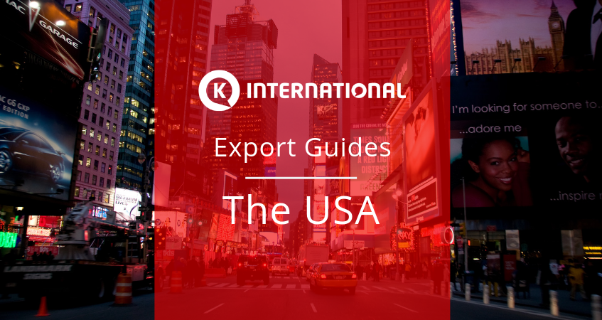 Export Guide for The USA