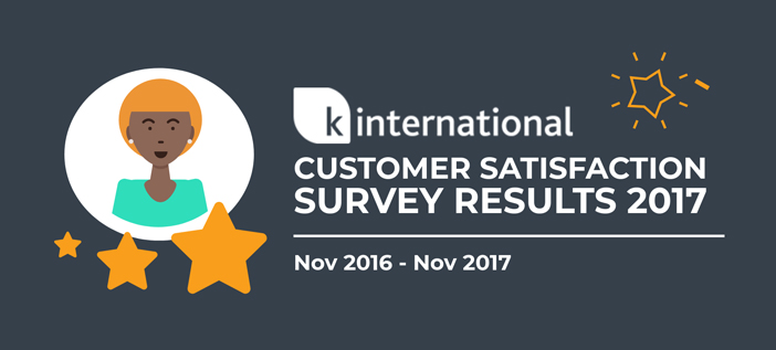 Customer Satisfaction results for 2017