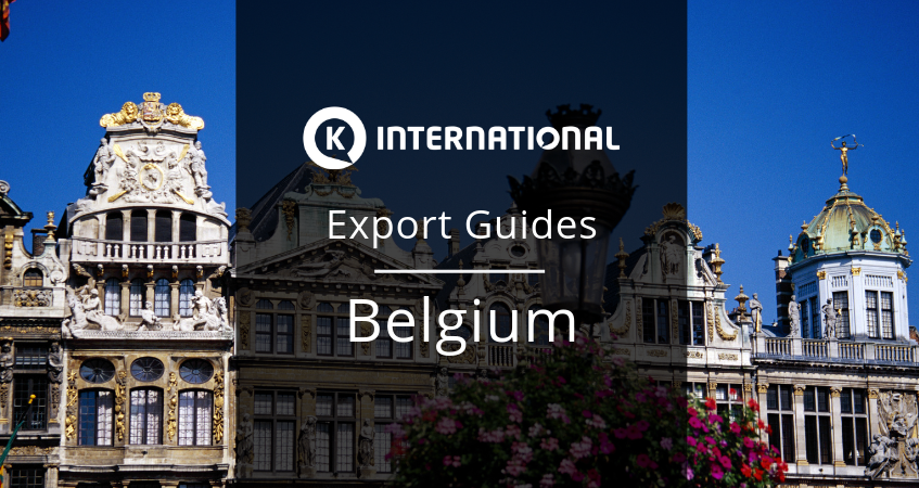 Export Guide for Belgium