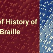 history of Braille