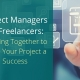 project managers and freelancers