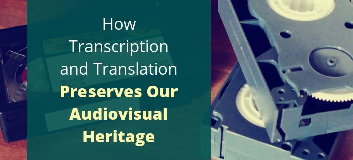 audiovisual heritage