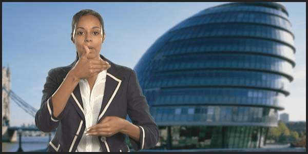 Sign Language London