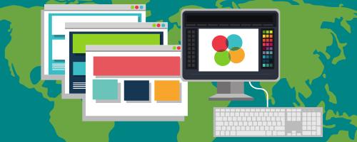 Desktop publishing banner