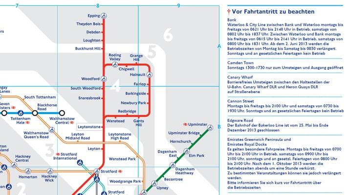 TFL map