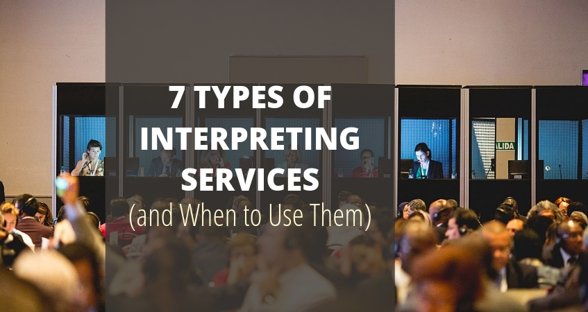 types of interpreting services