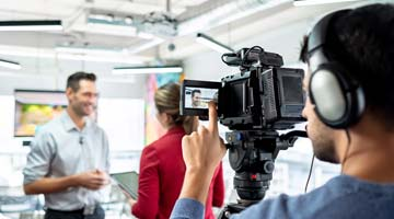 Transcription service for media