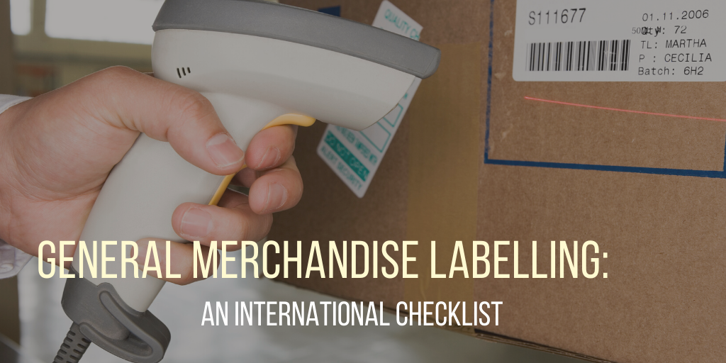 general merchandise labelling