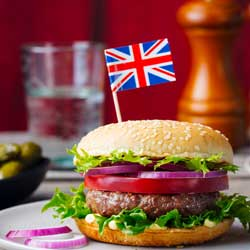 Big appetites for British food products