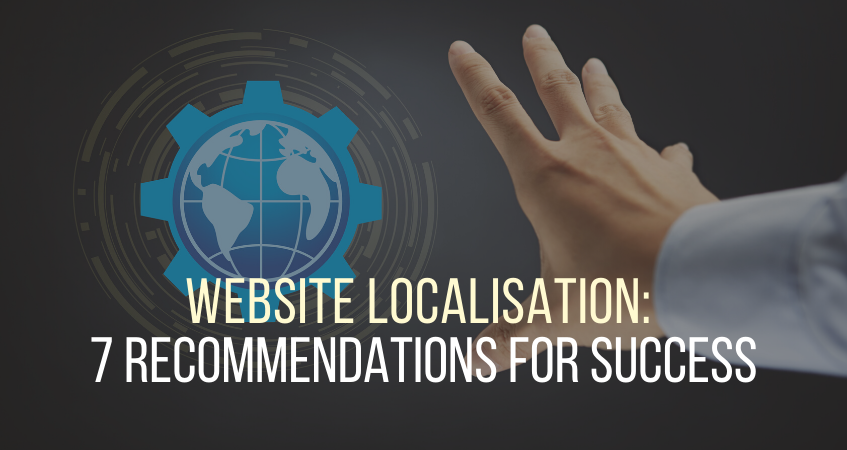 website localisation recommendations
