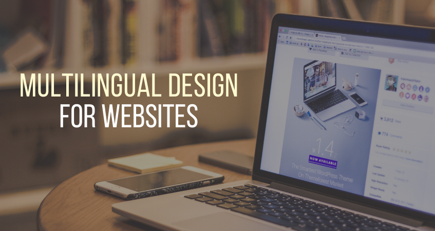 Multilingual design for websites