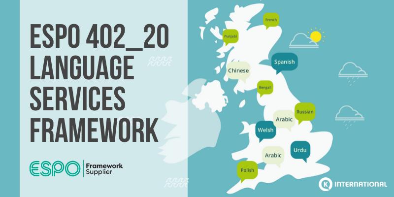 ESPO language services announcement