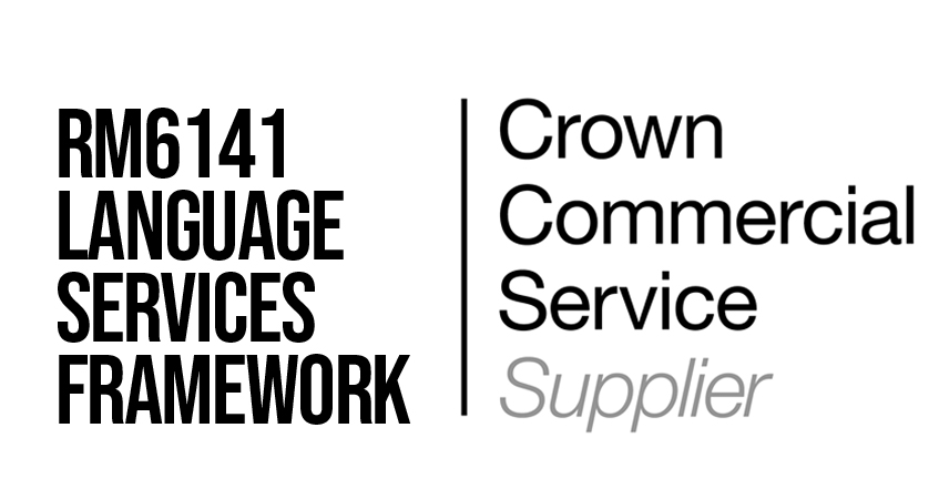 RM6141 Language Services Framework