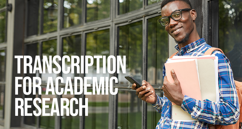 Transcription for Academic Research